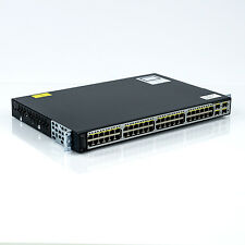 Cisco Catalyst 3750 V2 Series WS-C3750V2-48PS-S POE 48-Port Managed Switch