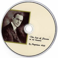 LAW OF SUCCESS in 16 Lessons NAPOLEON HILL #1 Top Selling  Self-Help Book on CD