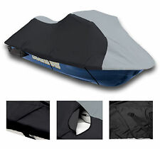 TOP OF THE LINE Black/Grey SeaDoo  Bombardier PWC Jet ski cover GSX (1996-97)