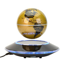 Home Office Decor Magnetic Levitation Maglev Levitating Floating Globe World Map