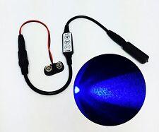 Micro Effects Blue LED Light & Control Strobe Flash Blink 9 Volt MEL-PB1-D-9VB