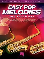 Easy Pop Melodies: for Tenor Sax, Hal Leonard Corp., Good Book