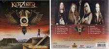 KENZINER - THE PROPHECIES - EU 10 TRK CD - HEAVY METAL - ROCK