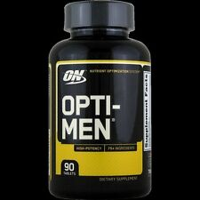 Optimum OPTI-MEN Multi-Vitamin Vitamin D Amino Acids B-Complex 90 Tablets