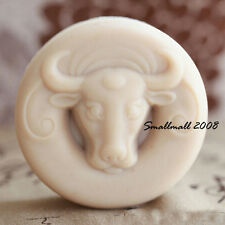 bull head - Handmade Silicone Soap Mold Candle Mould Diy Craft Molds 28