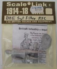 Scale Link SERGEANT FILTER RFC Lead Figure MIP 54mm, 1/32- WWI 1914-18 - UK