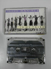 10000 MANIACS IN MY TRIBE CINTA TAPE CASSETTE 1987 ELEKTRA USA EDITION