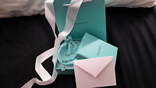 Tiffany & Co. Empty Gift Box, Gift  Bag, Pouch, Ribbon & Tiffany Blank Card