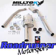"Milltek 205 GTi Stainless Exhaust System & Downpipe 2.25"" Manifold Back MCXPE101"
