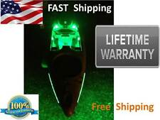 Kayak Paddle or CANOE - Green Fishing LED Light Kit - COMPLETE KIT with 9v Power