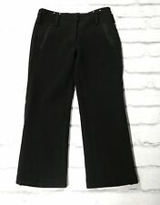 NEW STOCK: Marc Jacobs AW11 Button Detail Black Thick Wool Trousers US6/UK10