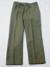 Uniform Man´s Lovat Worsted, Royal Marines,Trousers, Gr.  ca. 77/84/100