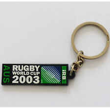 Rugby World Cup 2003 Event Logo Key Ring - Rubber