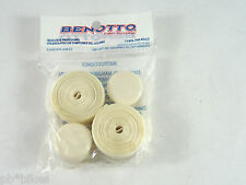 Benotto White Handlebar Cello Bar Tape Textured Vintage Bicycle Original New