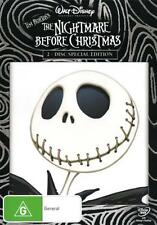 The Nightmare Before Christmas  - DVD - NEW Region 4