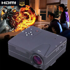 1080P 3800 Lumens Projector Home Theater Cinema LED/LCD HDMI VGA AV TV VGA HD US