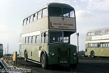 Lincoln City Transport Trainer KVL684 Depot Yard 1977 Bus Photo