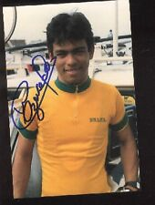 WANDERLEY MAGALHAES BRASIL Photo Signed cyclisme ciclismo autograph Cycling vélo