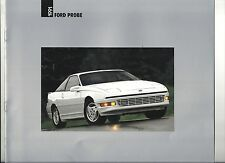 "1991 FORD PROBE 'GT"" ""LX"" ""GL"" SHOWROOM BROCHURE ""NOS"""