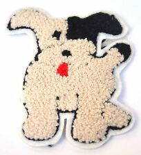 WIRE HAIRED TERRIER DOG    Embroidered Iron Sew On Cloth Patch Badge APPLIQUE