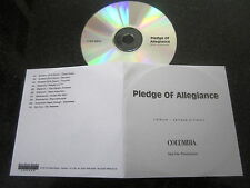 PLEDGE OF ALLEGIANCE TOUR RARE PROMO CD SYSTEM OF A DOWN SLIPKNOT MUDVAYNE
