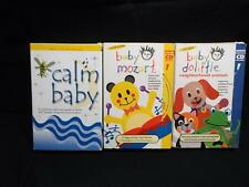 VHS Tape lot 3 Tapes Baby Einstein mozart calm baby doolittle