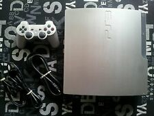 Sony PlayStation 3 Slim Limited Edition Satin Silver 320 GB Console **Rare**