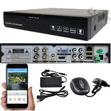 Sikker Standalone 4Ch CHANNEL Full 960H D1 CCTV DVR Video Security Camera System
