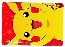 PROMO POKEMON JAPANESE CARD -CAJ DOS JAUNE- N°  JOKER - PIKACHU