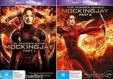 The Hunger Games 3 - Mockingjay Part 1 & 2 : NEW DVD