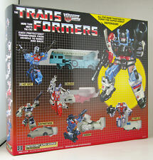 NOUVEAU HASBRO TRANSFORMERS G1 PROTECTOBOTS DEFENSOR GIFTSET MIB AUTOBOT