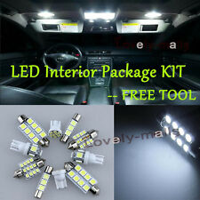 LED Interior Package Kit Bulb Xenon White 11pc Map For 2002-2016 Dodge Ram RU