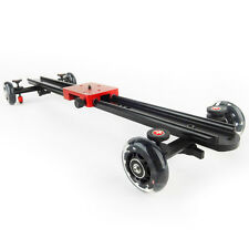 "Koolertron 60CM / 23.6"" Video Camera Slide Rail Dolly Track Stabiliser for DSLR"