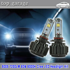 9005 HB3 60W CREE LED Headlight High Beam Kit for Chevy Silverado 1500 2500 3500