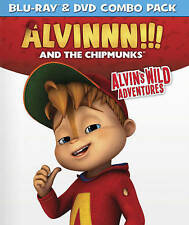 BLU-RAY Alvin And The Chipmunks: Alvin's Wild Adventures (Blu-Ray, 2-Disc Set)