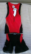 Speedo XD Skin Zip Front Rashguard Water Repellant Set Size XS ~ NWT