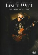 Leslie West Sound & The Story Learn to Play Heavy Metal Rock Guitar Music DVD