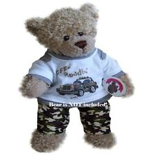 Teddy Bears Clothes fit Build a Bear Teddies Off Road Outfit Bears Clothing