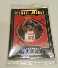 1995 Upper Deck Michael Jordan Predictor Redemption Set Still Factory SEALED!!!!