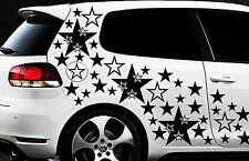 106x Sterne Star Auto Aufkleber Set Sticker Tuning Shirt Stylin WandtattooTribel