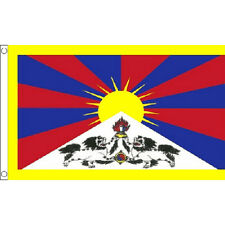 Tibet Flag 5Ft X 3Ft Tibetan Asia Asian Country Banner With 2 Eyelets New