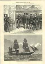 1875 Arctic Expedition Hms Valourous Provision Ship