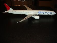 JC WINGS 200 ON GEMINI  777-300 JAPAN AIRLINES ONEWORLD 1/200 SCALE NEW SOLDOUT