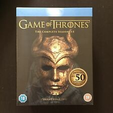 BRAND NEW GAME OF THRONES Seasons1 2 3 4 5 1-5 Blu-ray Box Set HBO