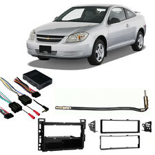 Fits Chevy Cobalt 2007-2010 Single DIN Stereo Harness Radio Install Dash Kit