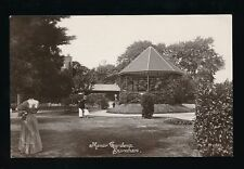 Somerset BURNHAM Manor Gardens pre1919 RP PPC local pub Mounter