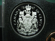 1987 Canadian Proof 50 Cent ($0.50)