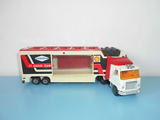 29.05.16.10 Camion truck F1 racing team 1/60 transport auto voiture Majorette