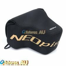NEOpine Neoprene Soft Camera Protector Case Bag Cover For Nikon P900 P900s Black