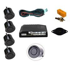 Black 4 Point Rear Parking Sensor Kit with Speaker / Buzzer - AUDI A4 SALOON